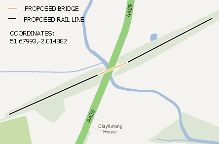 A429 Bridge Map